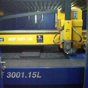 Machine de découpe laser fibre d'occasion MFS